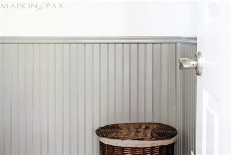 Painted Wainscoting by Tips For Painting Wainscoting Maison De Pax