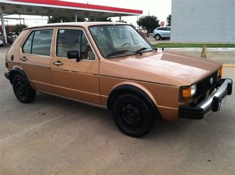 Find Used 1982 Volkswagen Rabbit Diesel In Plano, Texas