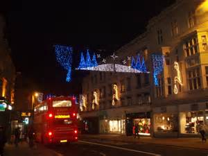 christmas decorations in north street 169 paul gillett geograph britain and ireland
