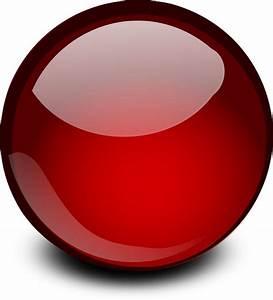 ORB, BALL, GLOBE, GLOSSY, GLOW, RED - Public Domain ...