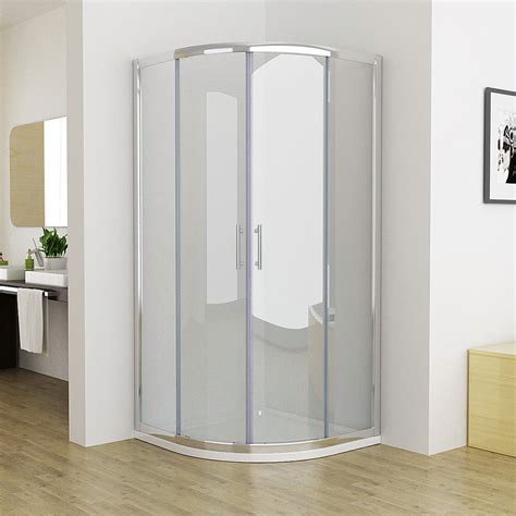 quadrant shower enclosure corner entry walk  cubicle