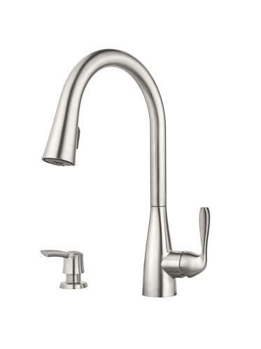 pfister lima one handle kitchen pulldown faucet at menards 174