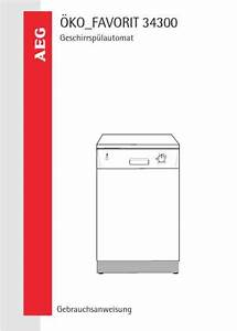 Aeg Fav34300w Dishwasher Download Manual For Free Now