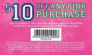 Victoria's Secret Coupons Online