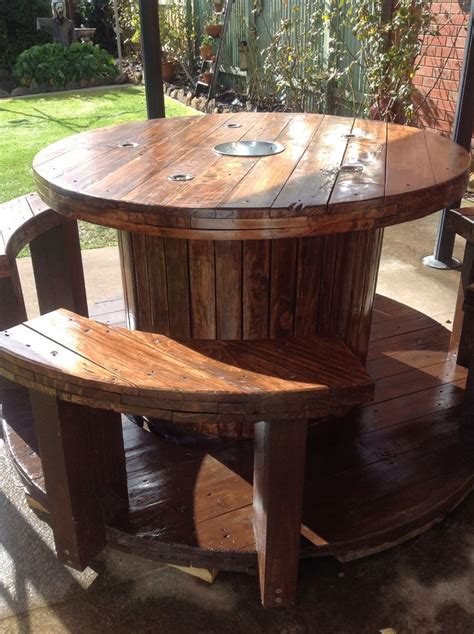 Outside Tables For Sale by Our Cable Table Spools In 2019 Wooden Cable Spools
