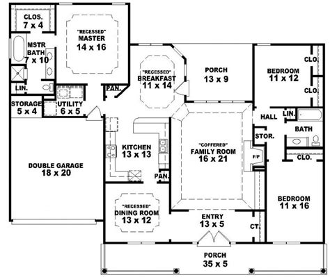 country home plans one story beautiful one story country house plans 1 single story