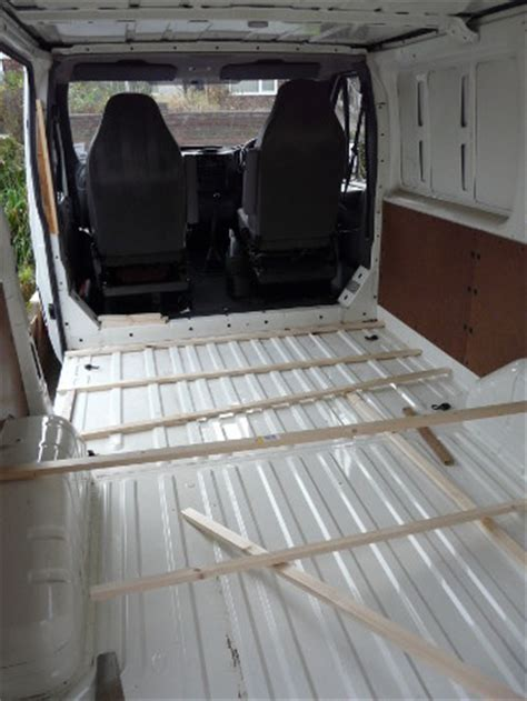 Panelling & Insulating the Van ? MotorhomePlanet.co.uk
