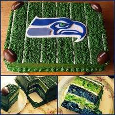 Cake Decorating Classes Seattle by Seattle Seahawks Football Jersey Buttercream Cake With