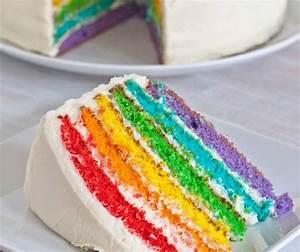 Regen, Regenbogenkuchen, Rezept, Mit, Und, Ohne, Smarties, Zum