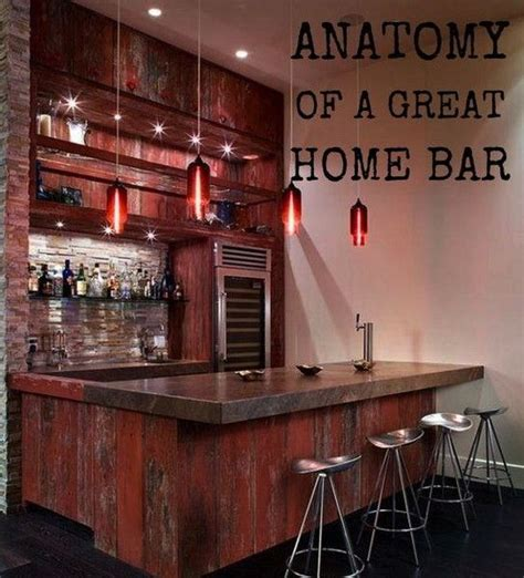 Great Home Bars by Anatomy Of A Great Home Bar Essentials To Make Your Home