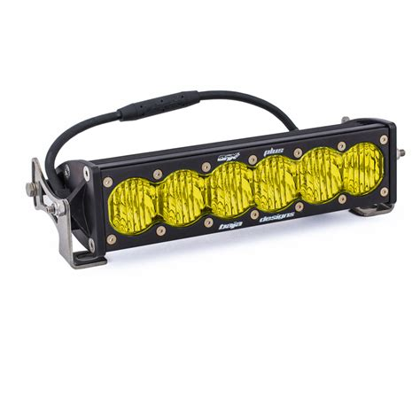 10 led light bar onx6 10 quot wide driving led light bar baja designs