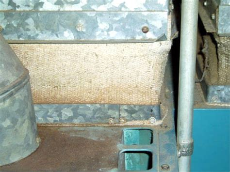 photo  asbestos damper furnace vibration damper