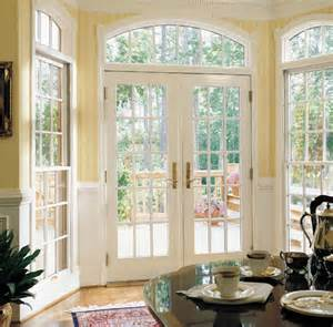 Exterior French Patio Door with Windows