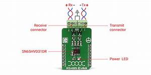 Rs485 3 Click  Rs485 Interface