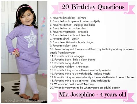 20 Birthday Questions To Ask