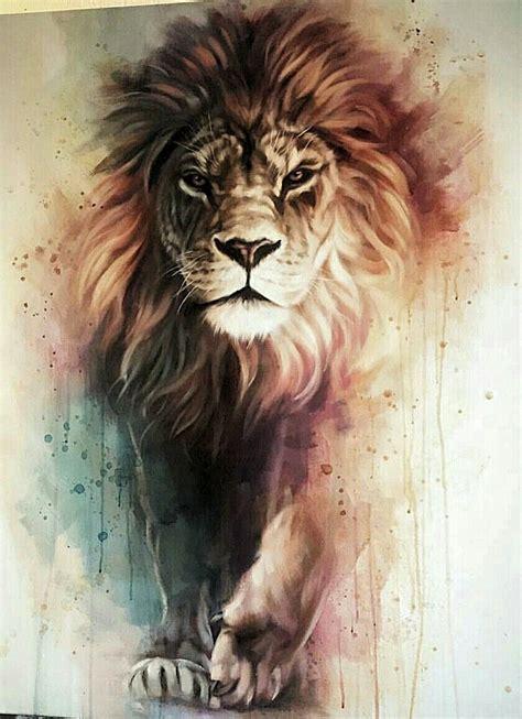 lion art art animals art lion tattoo lion painting