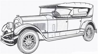 Coloring Pages Cars Classic Drawings Colouring Truck