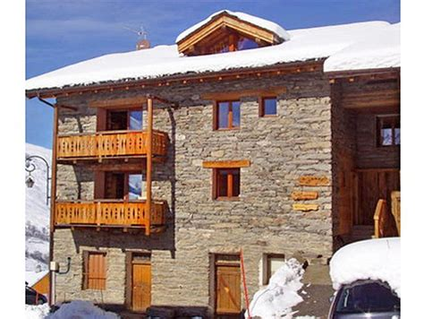 chalet necou les menuires ski rental holidays les menuires chalet levassaix