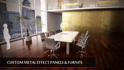 architectural metal cladding panels   give   unique interior youtube