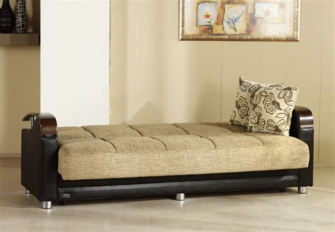 futon beds fulya brown convertible sofa bed by sunset
