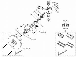 Rada V12 B Diverter Shower Spares And Parts