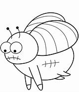 Fly Coloring Cartoon Pages Printable Categories sketch template