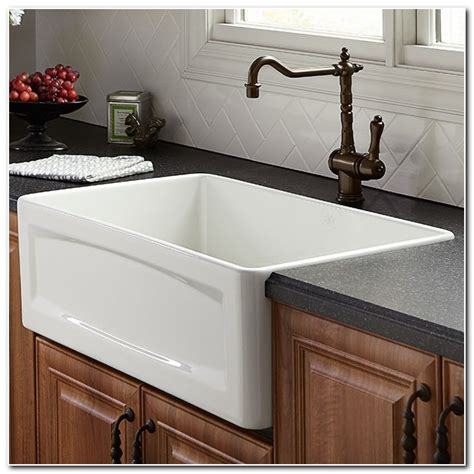 30 inch apron sink white 30 inch apron front kitchen sink sink and faucet home