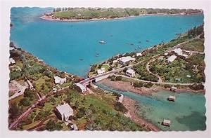 1960s Aerial Somerset Bridge Drawbridge Bermuda PC | eBay