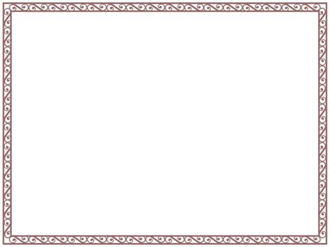 diploma border template certificate border templates for word clipart best