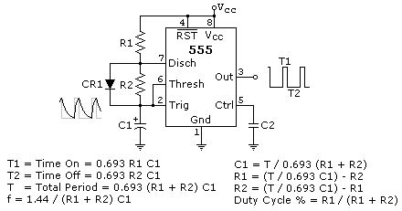 Astable Multivibrator Using All About Circuits