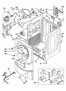 Cabinet Parts Diagram  U0026 Parts List For Model Wed9200sq0
