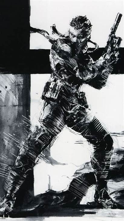 Solid Gear Metal Mgs Wallpapers Phone Mobile