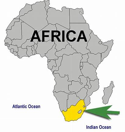 Africa South Animated Map Location Nelson Africans