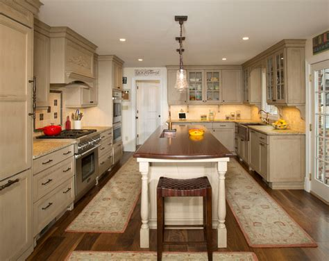 Galley-style Kitchen With Island In Olney, Md Traditional Espresso Dining Bench Yellow Outdoor Corner Table With Storage Powerblock Sports Curved Fire Pit Seat Cover For Dogs King Bed White Hall Tree
