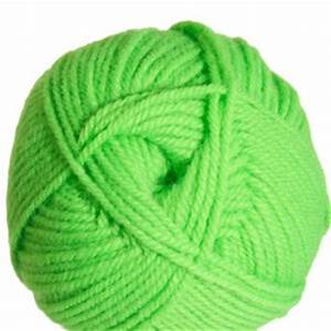 Plymouth Encore Worsted Yarn 0477 Neon Green at Jimmy