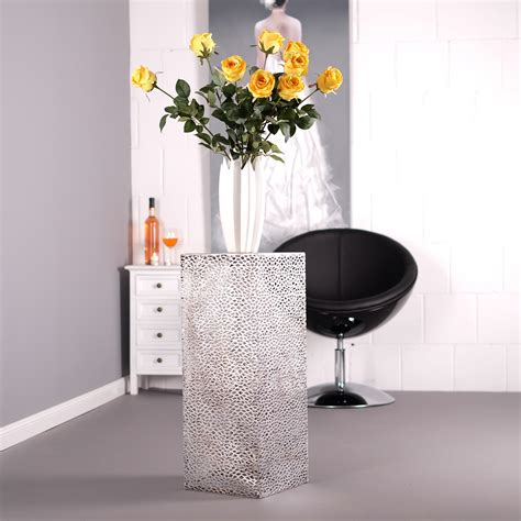 metall sä deko s 195 ule plata metall glasplatte 70 cm antik silber