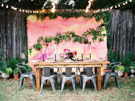 Backyard Decoration by Backyard Wedding Decoration Ideas