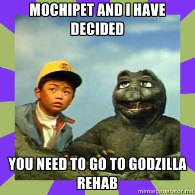 Rehab Meme - daly city records mochipet grassroots godzilla rehab meme contest