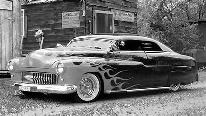 Cars Wallpapers Rod Classic Muscle Flames Rods