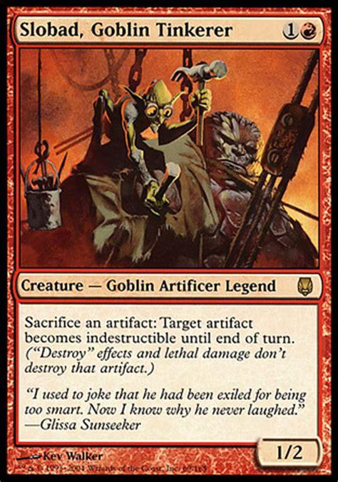 Goblin Charbelcher Edh Deck by Slobad Goblin Tinkerer So In Response I Sacrifice
