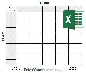 excel spreadsheet super bowl square grids