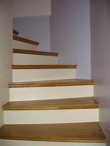 exceptionnel revetement pour escalier exterieur 6 With lovely peindre escalier en bois 6 recouvrir un escalier en carrelage