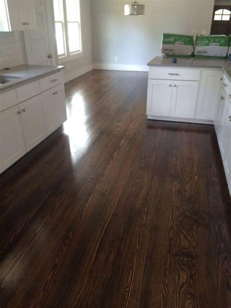 wood floor in kitchen pine hardwood floor refinishing design inc 1571