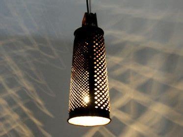 Kitchen Grater Lights by Cheese Grater Light Pendant Repurposed Pendant Light