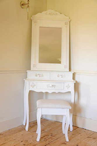 shabby chic dressing table stool paris shabby chic french style dressing table with mirror and stool ivory colour finish