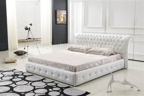 cing 4 chambres white leather bed king size bed buy white