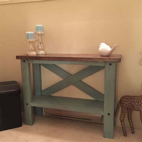 diy furniture plans tutorials mini console table