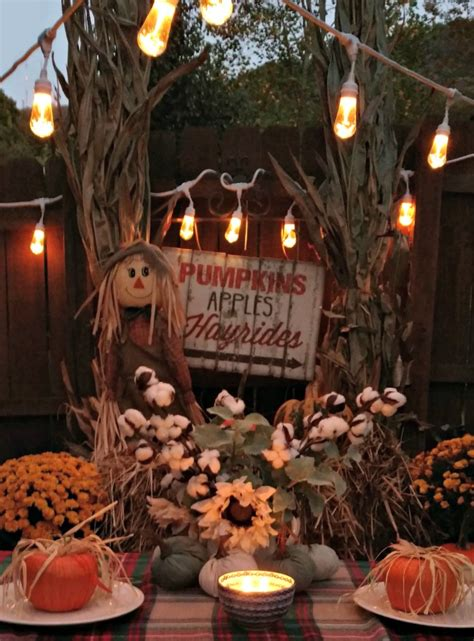 4 Tips For An Outdoor Fall Party