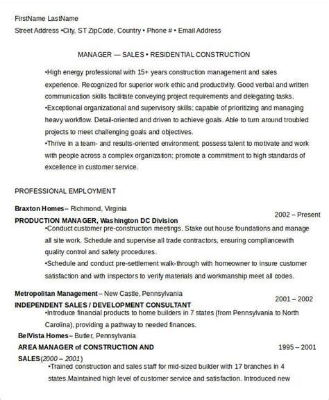 free manager resume templates 40 free word pdf
