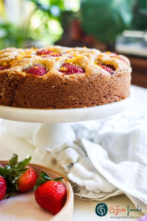 Small can still mean special! Strawberry Buttermilk Cake - G-Free Foodie | Recipe in ...